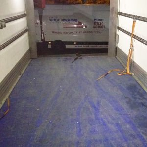 Internal Trailer Cleaning
